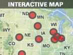 Map: Wind farms awarded stimulus grants before program started