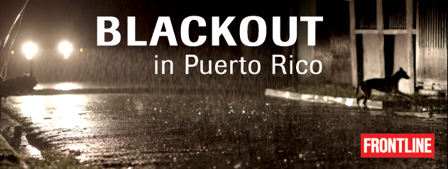Blackout in Puerto Rico