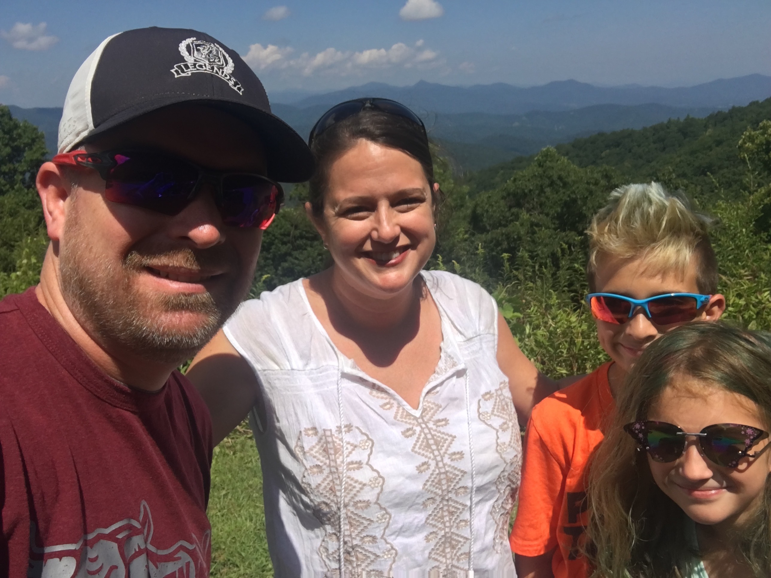 Beth Messersmith of Durham, N.C., pictured here with her family, is concerned about an industrial chemical that has contaminated local drinking water.