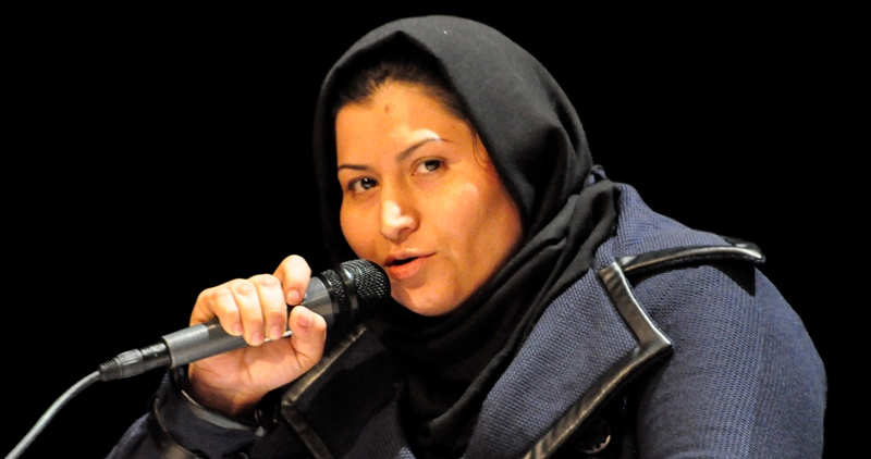 Photo of journalist Humira Saqib