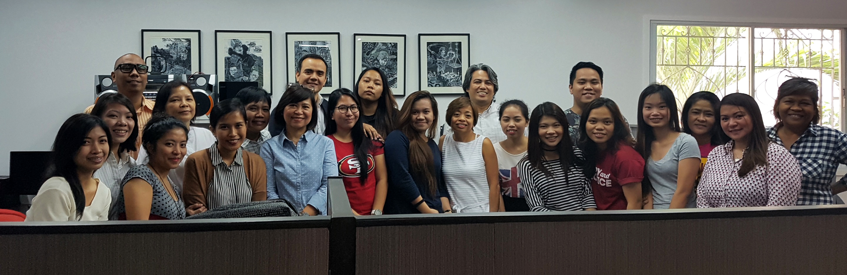 Philippine Center for Investigative Journalism staff and board of editors