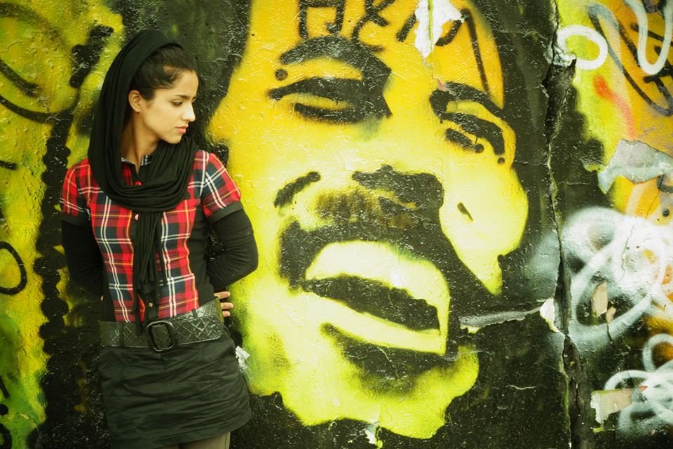 Photo of rapper Sonita Alizada.