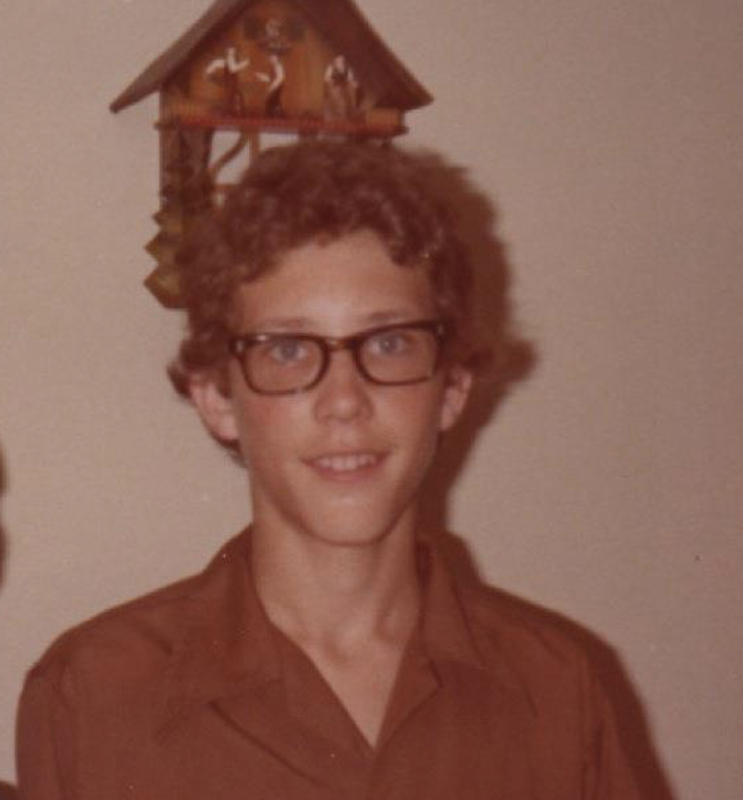 Stewart Smith as a young man